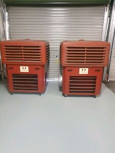 Large portable evaporative cooler