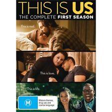 THIS IS US-Season 1-Region 4-New Sealed-5 Disc Set-TV Serie