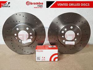 FOR MAZDA 3 BK BL 2.3 MPS TURBO FRONT PERFORMANCE BRAKE DISCS BREMBO PADS 320mm