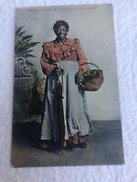 Black Americana postcard Miss Ann, Lexington MO, AIN'T IT DISH, Wheelock 1908