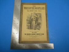 Vintage 1958 The Voice of The Mountains Vermont Country Store Weston VT S4021