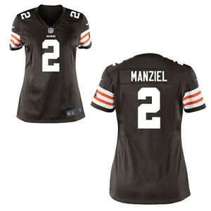 Johnny Manziel WOMENS Jersey Cleveland Browns Brown by Nike