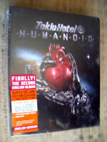 Tokio Hotel ‎– Humanoid -- Super Deluxe Edition - CD + DVD   SEALED