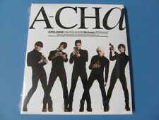 SUPER JUNIOR A-CHA [5TH MR.SIMPLE C] CD w/ 4 BONUS TRKS $2.99 S&H