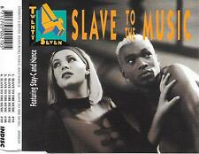 TWENTY 4 SEVEN - Slave to the music CDM 4TR Eurodance 1993 (INDISC) Holland