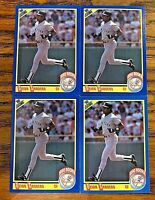 1989 Score #586 Deion Sanders RC - Yankees (4)