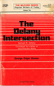 George Edgar Slusser • THE DELANY INTERSECTION • #10 Milford • Chapbook • 1977