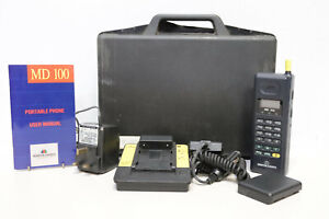 Martin Dawes MD 100 Vintage Portable Phone w/ Case Charger & Accs - 232