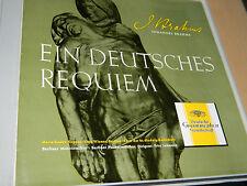 coffret 2 LP JOHANNES BRAHMS Ein deutsches Requiem STADER wiener LEHMANN hedwig