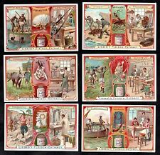Natural Resources Card Set Liebig 1906 Pearl Diving Coral Ivory Tortoiseshell