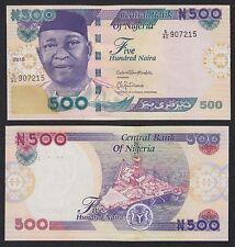 Nigeria  500 Naira  2015   Pick 30n   SC = UNC