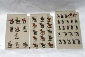 Ochel Flat Toy Soldier Special Painting Imperial Dragoon Swedish Horse 30 Years