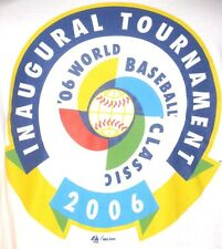 2006 Inaugural World Baseball Classic Adult Medium T-Shirt (M Japan Champs USA)