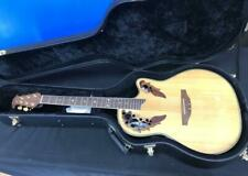 Ovation Celebrity Deluxe 6-string RH Acoustic Electric Guitar w/hard case
