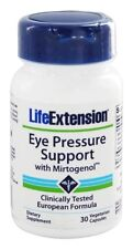 THREE PACK $21.12 Life Extension Eye Pressure Support Mirtogenol eye health