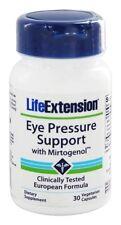 THREE BOTTLES $21.75 Life Extension Eye Pressure Support Mirtogenol eye health