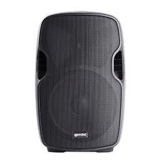 """Gemini AS-08BLU 8"""" Powered ABS Molded Bluetooth Loudspeaker DJ Speaker Monitor"""