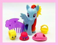 "My Little Pony 3"" Rainbow Dash & Shopkin Friends Sunflower Power"