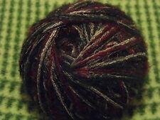 Designerwolle 500g Bordaux Grün Schwarz Rot Nadelstärke 5-6 schurwolle 0,5 kg