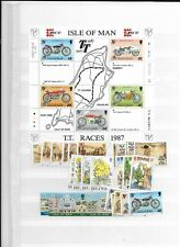 1987 MNH Isle of Man, year collection, Postfris