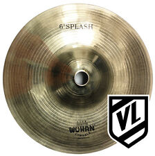 "Wuhan 6"" Splash Cymbal for your drum set - Traditional cymbals WUSP06 - NEW"