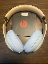 Beats Studio 3 Wireless Bluetooth Headphones Crystal Blue -Skyline Col MTU02LL/A
