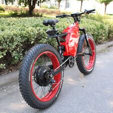 Very Fat Tire 5000W Electric Mountain Bike 80km/h