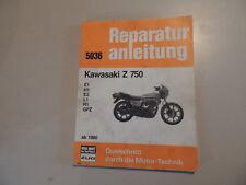 Reparaturanleitung Kawasaki Z 750 E1 H1 E2 L1 R1 GPZ 1980-1983