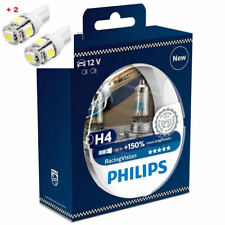 Philips Racing Vision H4 150%+ Twin - 2 free LED T10/W5W