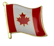 Canada Flag Pin Lapel Badge Canadian Kanada High Quality Gloss Enamel