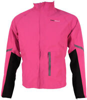 Piu Miglia Waterproof Womens Cycling Jacket - Pink