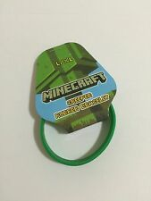 Minecraft Creeper Rubber Bracelet