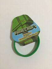 Minecraft Creeper Rubber Bracelet