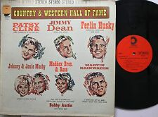 Country Lp Various Artists Country & Western Hall Of Fame On Design