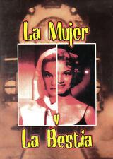 UN CLÁSICO! Ana Luisa Peluffo LA MUJER Y LA BESTIA Carlos Cores, Rubén Rojo /DVD