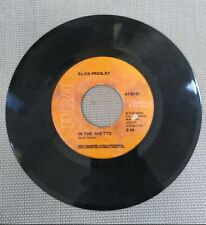 """Elvis Presley """"Any Day Now / In The Ghetto"""" -  7"""" Vinyl 45 RPM RCA Records"""