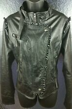 Apple Bottoms Black Leather Jacket for Woman