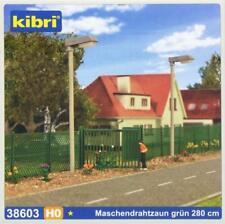 Kibri 38603 ( 8603 ) H0 - GP=4,20 €/ m  Maschendrahtzaun grün 280,0 cm NEU & OvP