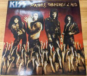 """836 759 12"""" 33RPM '88 KISS """"SMASHES, THRASHES & HITS"""" S1/S2 EX/VG"""