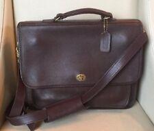 "COACH ""COLEBROOK""  Leather Briefcase #5181 Brown"