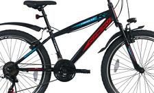 """KRON Cross 3.0 24"""" Zoll Mountainbike Jugendrad Hardtail Fahrrad 21 Gang Schwarz"""