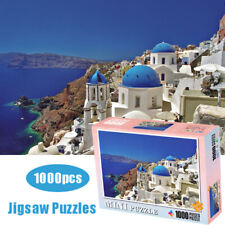 Aegean Sea Scenery 1000 Piece Kid Jigsaw Puzzles Educational Toy Game Home Decor