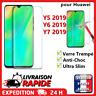 Huawei Y5 Y6 Y7 2019 verre trempé vitre protection d'écran film protecteur