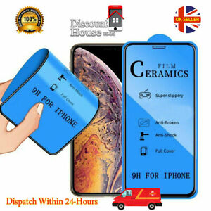 New Technology 3D  Ceramics  Explosion-proof Screen Guard iPhone 12 All Model