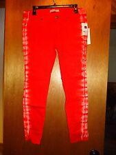 Rich & Skinny Orange Tie Dye Jeans 30 NWT $141