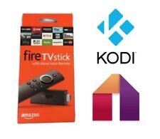 KODI 17.6 Amazon Fire Stick Latest version 2nd GEN Alexa Voice Remote
