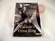 TWILIGHT CARLISLE'S CULLEN CREST RING NEW Authentic Prop Replica Jewelry NECA