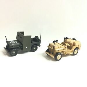 La Jeep SAS And Armoured 1/50 n11 Metal Collection Tanks And Vehicles Military