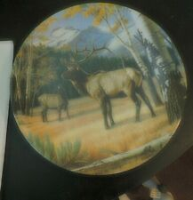 Lot of 5  Bradford Exchange Wild & Free Canada's Big Game Collection Plates