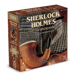Sherlock Holmes And The Speckled Band Mystery 1000 Piece Jigsaw Puzzle NEW